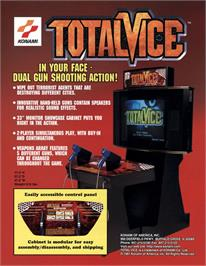 Advert for Total Vice on the Arcade.