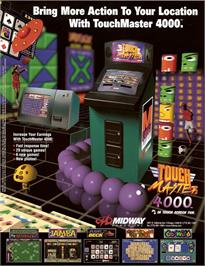 Advert for Touchmaster 4000 on the Arcade.