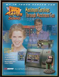 Advert for Touchmaster 5000 on the Arcade.