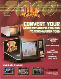 Advert for Touchmaster 7000 on the Arcade.