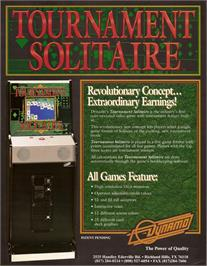 Advert for Tournament Solitaire on the Arcade.