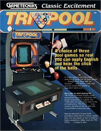 Advert for Tri-Pool on the Arcade.