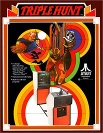 Advert for Triple Hunt on the Arcade.