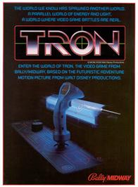 Advert for Tron on the Arcade.