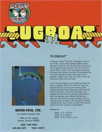 Advert for Tugboat on the Arcade.
