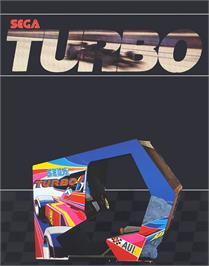 Advert for Turbo on the Mattel Intellivision.