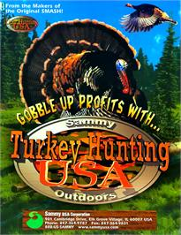 Advert for Turkey Hunting USA V1.0 on the Arcade.