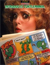 Advert for Turtles on the Magnavox Odyssey 2.