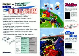 Advert for TwinBee on the MSX 2.