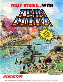 Advert for Twin Cobra on the Arcade.