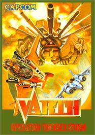 Advert for Varth: Operation Thunderstorm on the Arcade.