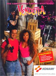 Advert for Vendetta on the Arcade.