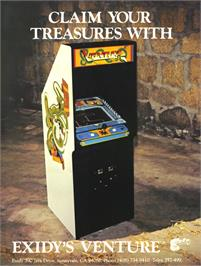 Advert for Venture on the Arcade.