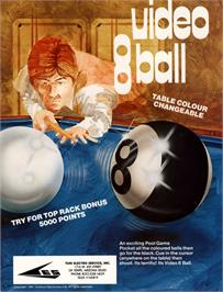 Advert for Video Eight Ball on the Arcade.