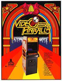 Advert for Video Pinball on the Arcade.