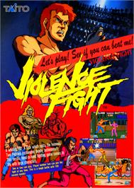 Advert for Violence Fight on the Arcade.