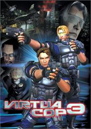 Advert for Virtua Cop 3 on the Arcade.