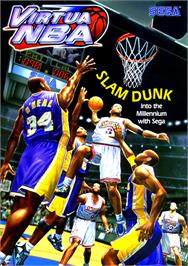 Advert for Virtua NBA on the Sega Naomi.