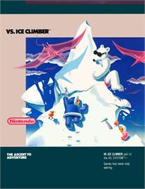 Advert for Vs. Ice Climber on the Arcade.