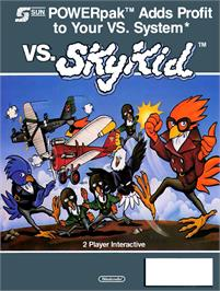 Advert for Vs. Super SkyKid on the Nintendo Arcade Systems.