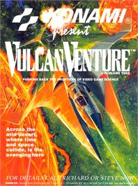 Advert for Vulcan Venture on the Arcade.