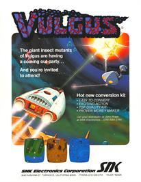 Advert for Vulgus on the Arcade.