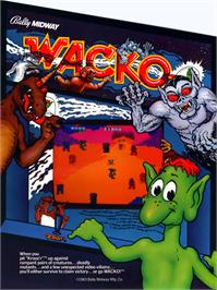 Advert for Wacko on the Arcade.