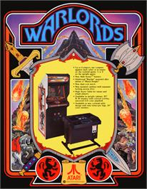 Advert for Warlords on the Arcade.
