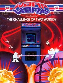 Advert for Warp & Warp on the Arcade.