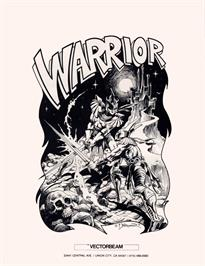 Advert for Warrior on the Arcade.