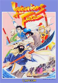Advert for Warriors of Fate on the Arcade.