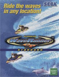 Advert for Wave Runner GP on the Arcade.