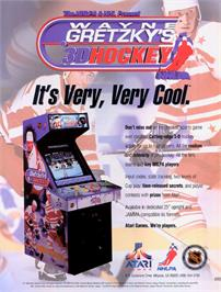 Advert for Wayne Gretzky's 3D Hockey on the Nintendo N64.