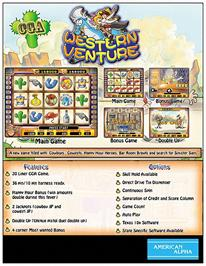 Advert for Western Venture on the Arcade.