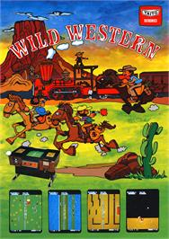 Advert for Wild Western on the Arcade.