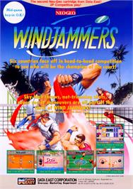 Advert for Windjammers / Flying Power Disc on the Arcade.