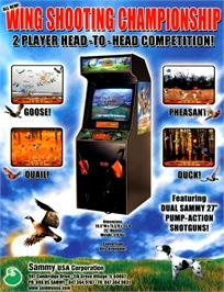 Advert for Wing Shooting Championship V2.00 on the Arcade.