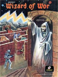 Advert for Wizard of Wor on the Atari 8-bit.