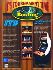 Advert for World Class Bowling on the Arcade.