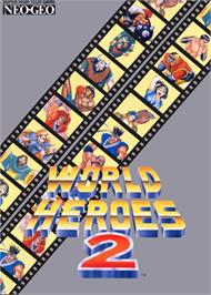 Advert for World Heroes 2 on the SNK Neo-Geo MVS.