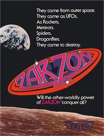 Advert for Zarzon on the Arcade.