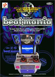 Advert for beatmania on the Arcade.