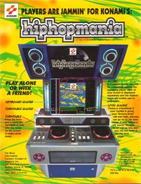 Advert for hiphopmania complete MIX on the Arcade.