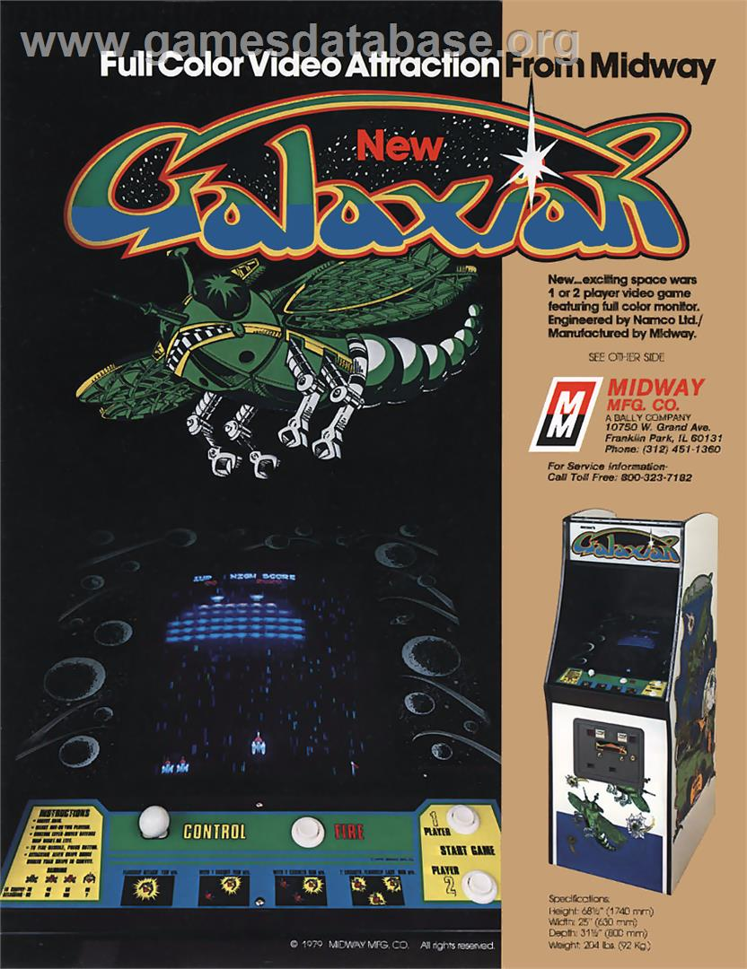Galaxian - Arcade - Artwork - Advert