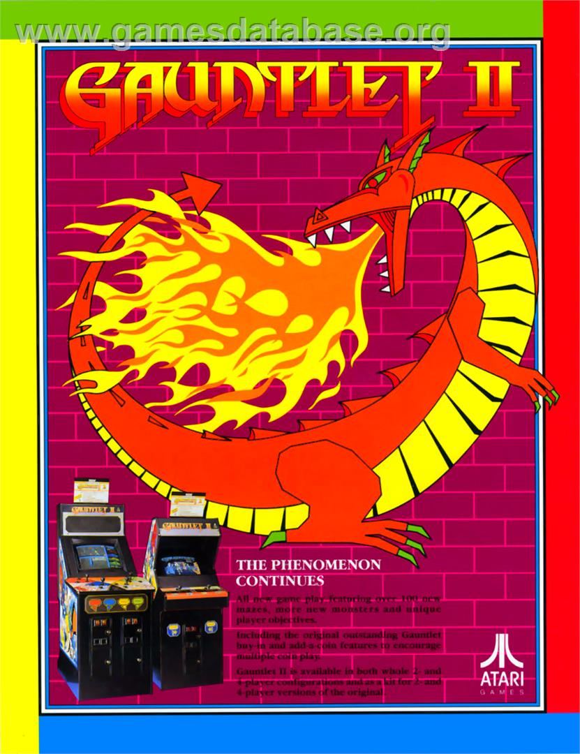 Gauntlet II - Commodore Amiga - Artwork - Advert