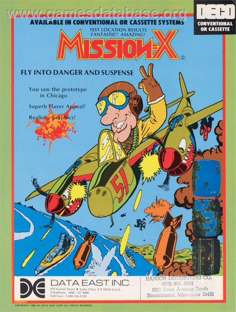 Mission-X - Mattel Intellivision - Games Database