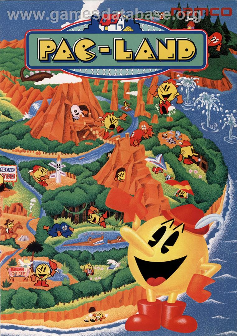 Pac-Land - MSX - Artwork - Advert