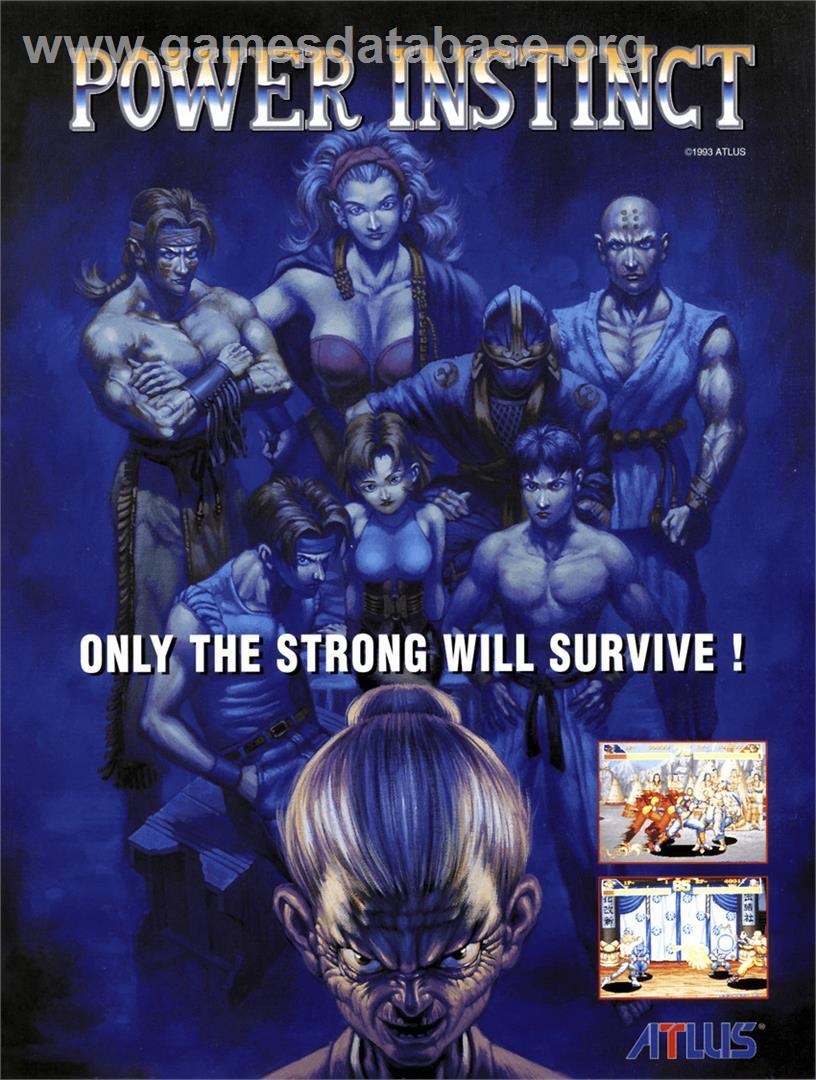 Power Instinct - Nintendo SNES - Games Database