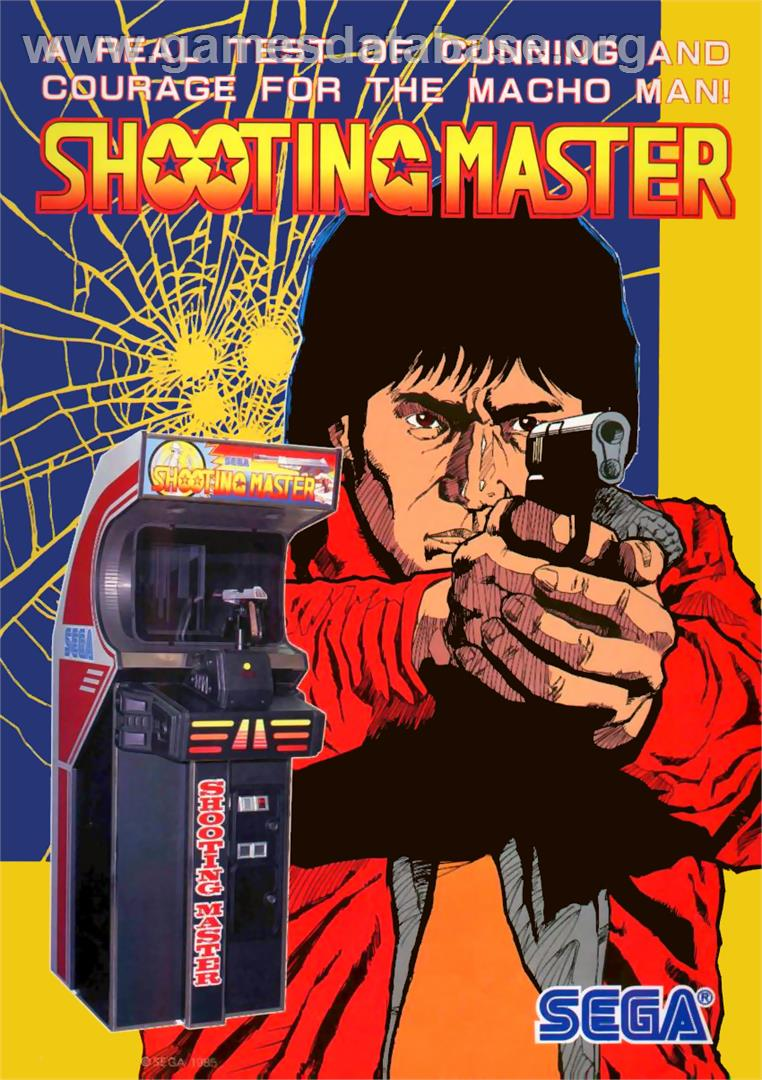 Shooting Master - Arcade - Artwork - Advert