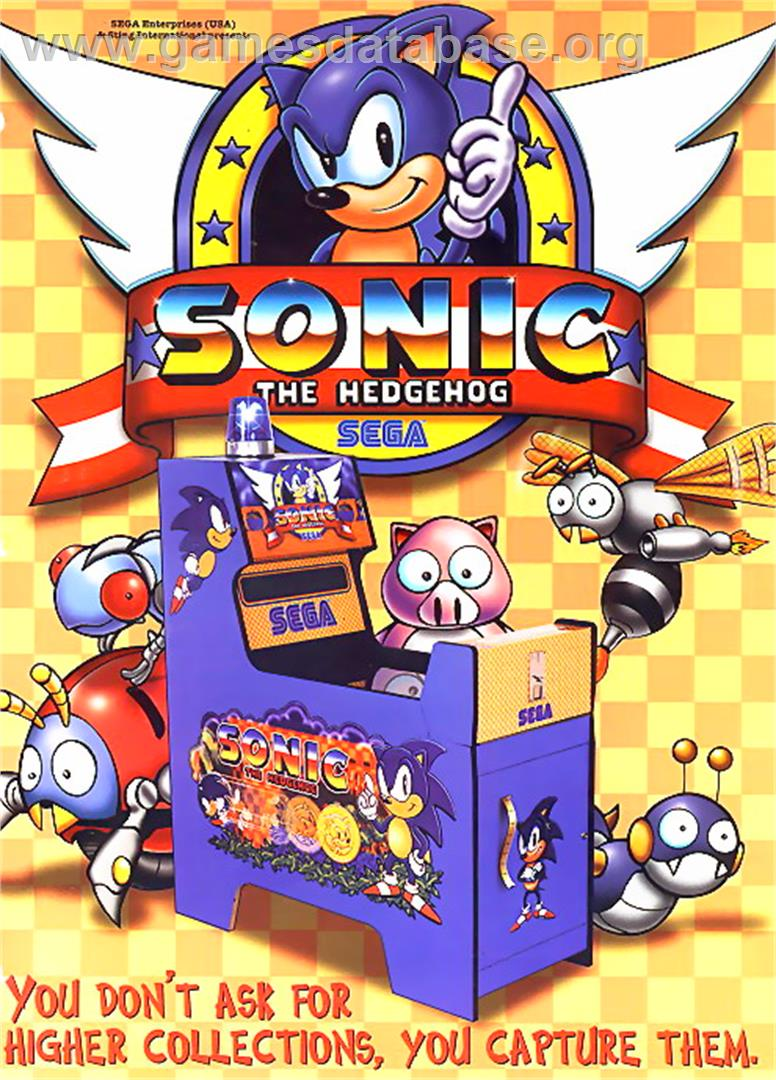 Sonic The Hedgehog Sega Game Gear Artwork Advert